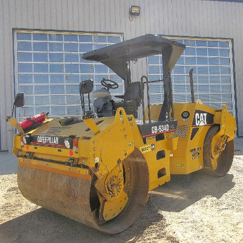 Paving Rollers and Compactors