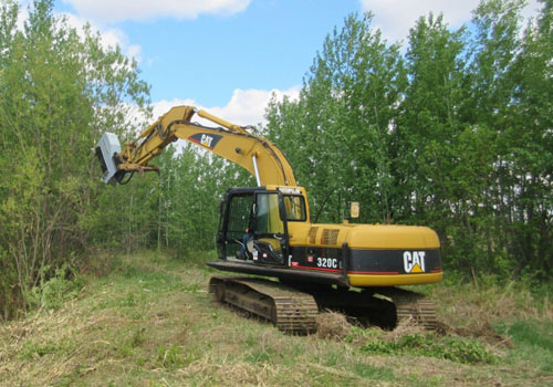 Excavators - Mulcher/Brush Cutter
