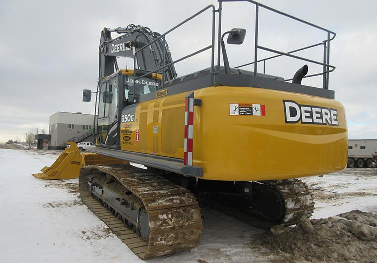 For Rent - Excavators - Mid and Large - 2014 John Deere 350